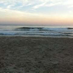 Photo taken at Praia de Guaecá by Rodolfo M. on 7/29/2012