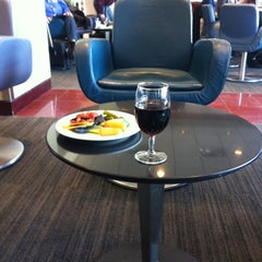 Photo taken at Maple Leaf Lounge (Domestic) by Talia B. on 2/26/2012