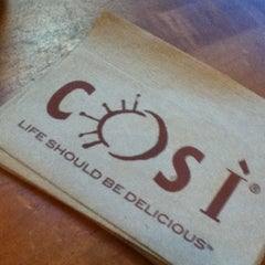 Photo taken at Così by Chrissy J. on 2/19/2012