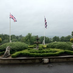 Photo taken at Shrigley Hall Hotel by Teresa K. on 6/7/2012