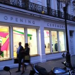 Photo taken at opening ceremony pop-up by ZoLaBeAm on 9/13/2012