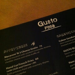 Photo taken at Gusto by Jason Tse on 7/13/2012