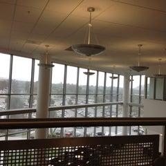 Photo taken at University Library - Cal Poly Pomona by Johanna Z. on 5/18/2012