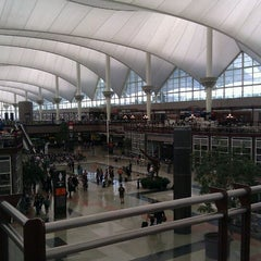 Photo taken at Denver International Airport (DEN) by Rand F. on 3/17/2012
