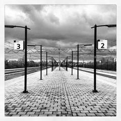 Photo taken at Station Schiedam Centrum by Ruben v. on 4/25/2012