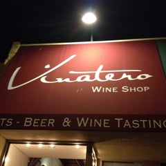Photo taken at Vinatero Wine Shop by Angie R. on 3/4/2012