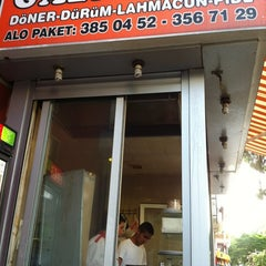 Photo taken at Gaziantep Döner Dürüm by Omer D. on 6/2/2012