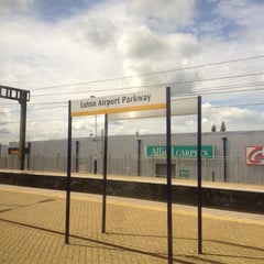 Photo taken at Luton Airport Parkway Railway Station (LTN) by Marcelo A. on 6/10/2012