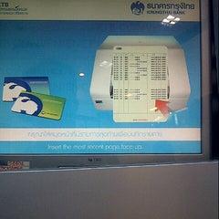 Photo taken at ธนาคารกรุงไทย (Krungthai Bank) by Tanaphon c. on 8/7/2012