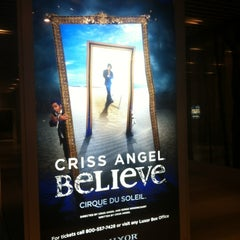 Photo taken at CRISS ANGEL Believe by Jen on 6/20/2012