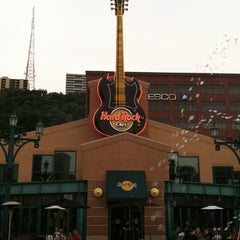 Photo taken at Hard Rock Cafe Pittsburgh by Sheila K. on 7/13/2012