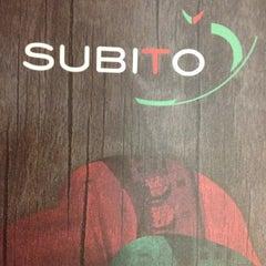 Photo taken at Subito by Gilson B. on 8/16/2012