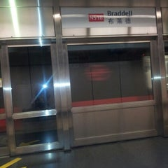 Photo taken at Braddell MRT Station (NS18) by Sal B Y. on 7/12/2012