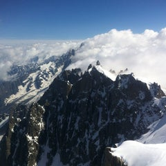 Photo taken at Les Grands Montets by Marina G. on 5/28/2012