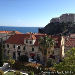 Photo taken at Hilton Imperial Dubrovnik Hotel by Zubair (Зубаир) R. on 4/2/2012