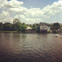 Photo taken at Waterman Grille by Caitriona™ on 7/8/2012