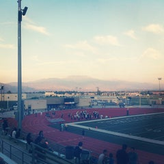 Photo taken at Tahquitz High School by Crystal S. on 9/8/2012