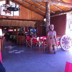 Photo taken at Los Ulmos de Chiñura by Ver?ica P. on 3/13/2012