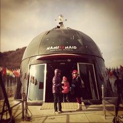 Photo taken at 남이섬 (Nami Island) by Vivitawin K. on 2/17/2012