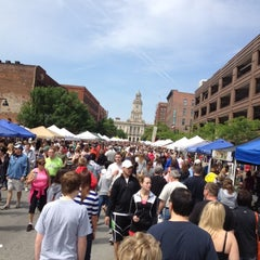 Photo taken at Downtown Des Moines Farmers Market by TomN on 5/12/2012