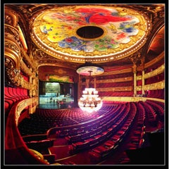 Photo taken at Opéra Garnier by Fabien B. on 7/16/2012