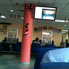 Photo taken at Jabatan Pendaftaran Negara Negeri Perak by Kerox A. on 6/13/2012