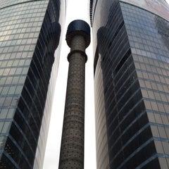 Снимок сделан в Башня «Федерация» / Federation Tower пользователем Dmitry M. 2/29/2012
