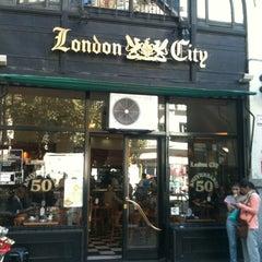 Photo taken at London City by Ana B. on 3/14/2012
