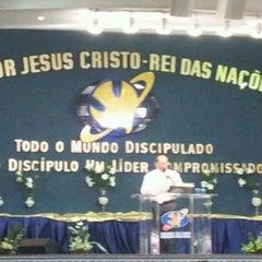 Photo taken at Igreja da Paz by Ligia L. on 4/8/2012