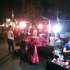 Photo taken at ถนนคนเดิน แม่ฮ่องสอน by Patty P. on 4/5/2012