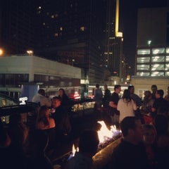 Photo taken at Seven Steakhouse Sushi Ultralounge &  Skybar by Meghan K. on 3/25/2012