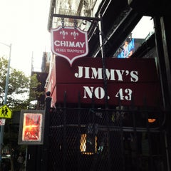 Photo taken at Jimmy's No. 43 by Dave M. on 9/6/2012