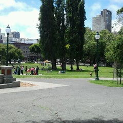 Photo taken at Washington Square Park by Tria W. on 6/30/2012