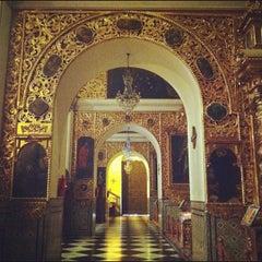 Photo taken at Iglesia San Pedro de Lima by Yovanni on 8/20/2012