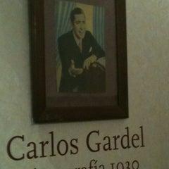 Photo taken at Museo Casa Carlos Gardel by Julian M. on 4/18/2012
