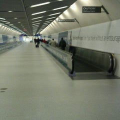 Photo taken at Moving Walkway by Jonathan O. on 3/5/2012