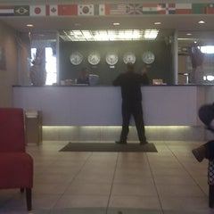 Photo taken at Pan American Hotel by Bart v. on 2/6/2012