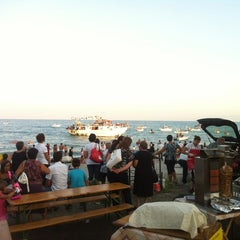 Photo taken at Trebisacce Beach by Antonio P. on 8/16/2012