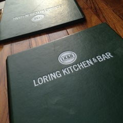 Photo taken at Loring Kitchen and Bar by Gary S. on 5/22/2012