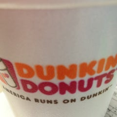 Photo taken at Dunkin Donuts by Jessica R. on 8/28/2012