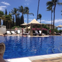 Photo taken at Kea Lani Adult Pool by Hilary W. on 7/20/2012