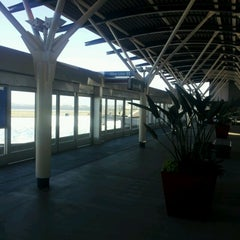 Photo taken at SFO AirTrain Station by 7he Real Phenom on 6/12/2012
