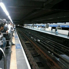 Photo taken at Estação Portuguesa-Tietê (Metrô) by Ruhan F. on 2/12/2012