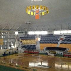 Photo taken at Αλεξάνδρειο Μέλαθρον (Palais des Sports) by Northbasket.gr on 2/8/2012