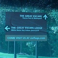 Photo taken at The Great Escape & Splashwater Kingdom by Nikki G. on 8/31/2012