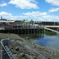 Photo taken at Bar Harbor Pier by Jeff C. on 6/10/2012