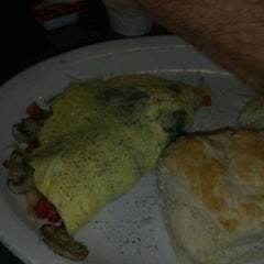 Photo taken at Scrambles Cafe by Melody P. on 5/13/2012