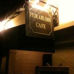 Photo taken at Pedlars Inn Cafe by Yoshi G. on 4/21/2012