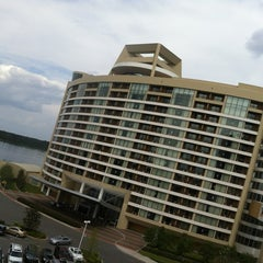 Photo taken at Contemporary Resort Convention Center by Fred W. on 3/29/2012