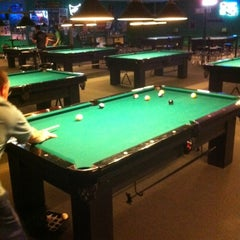 Photo taken at The Billiard Den by Adam D. on 2/5/2012
